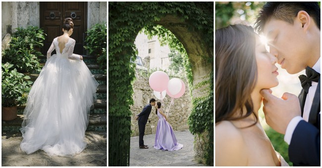 Swoonworthy & Oh-So-Romantic Amalfi Wedding Escape {darinimages}