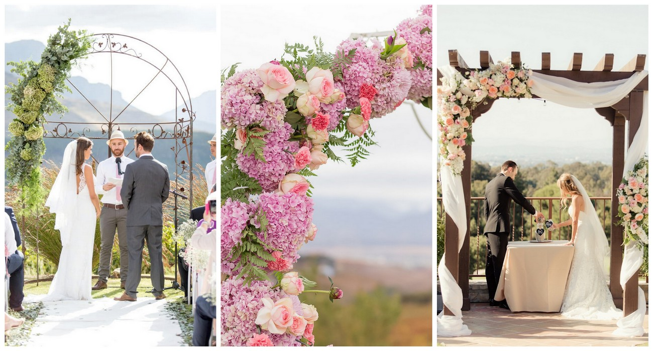 21 Amazing Wedding Arch + Canopy Ideas