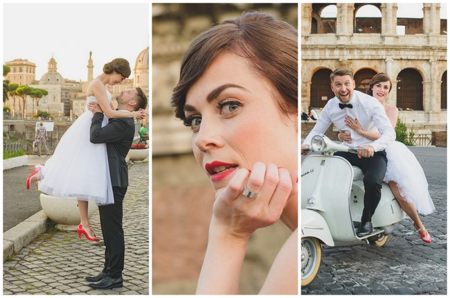 Audrey Hepburn's 'Roman Holiday' Italian Elopement {Rochelle Cheever Photography}