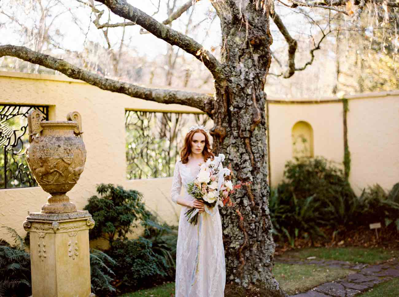 Delicately Divine Autumn Bride Inspiration in the Everglades by Bride La Boheme