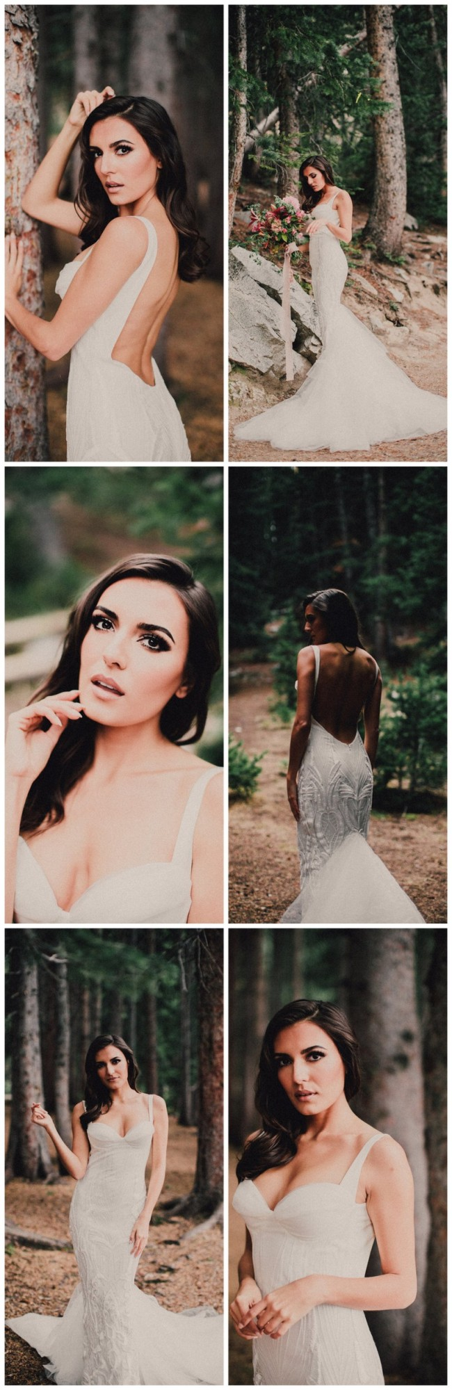 Backless Wedding Dress 2016: Katie May Gown - Images by Ty French)