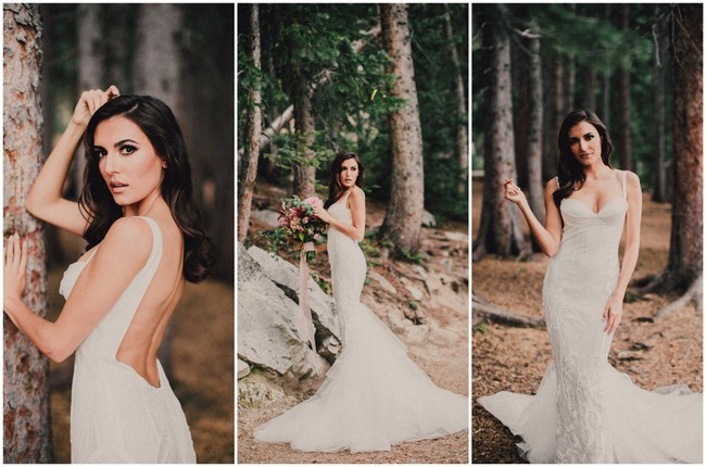 Backless Wedding Dress 2016 - images by Ty French