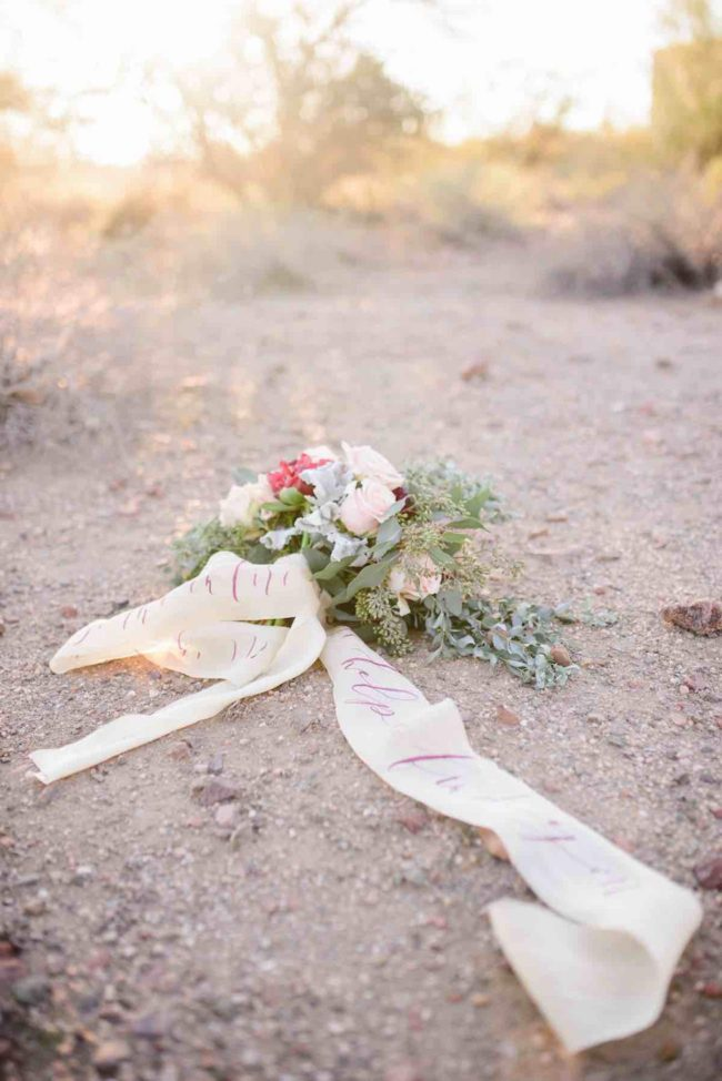Berry Blush Desert Wedding 27