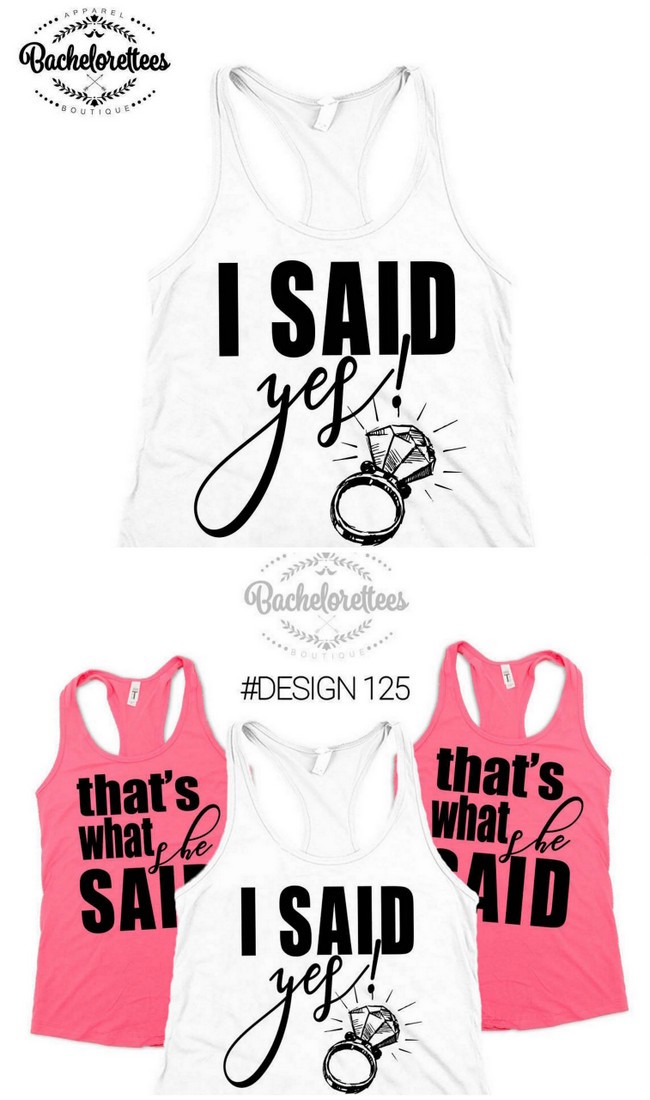 1634560d2bd3de 30+ Cutest Bridesmaid Shirts and Bridal Party T-Shirts Around!