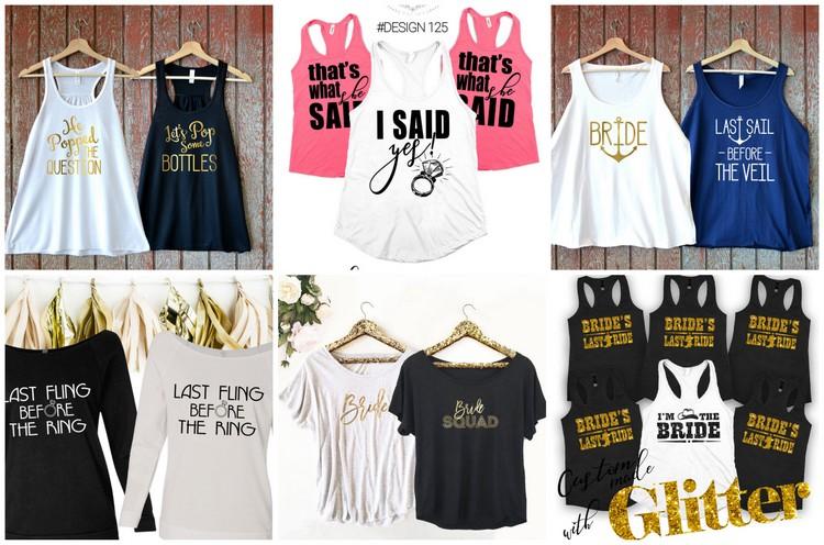 Wedding T Shirt Ideas: 30+ Cutest Bridesmaid Shirts And Bridal Party T-Shirts Around
