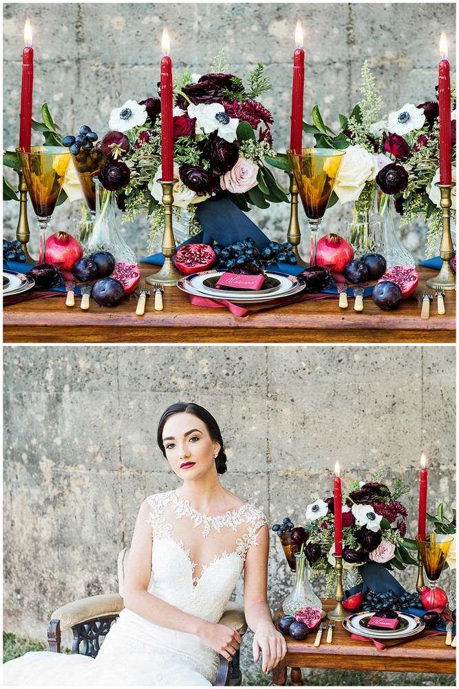 Must See Romantic Burgundy Red And Navy Blue Wedding Ideas