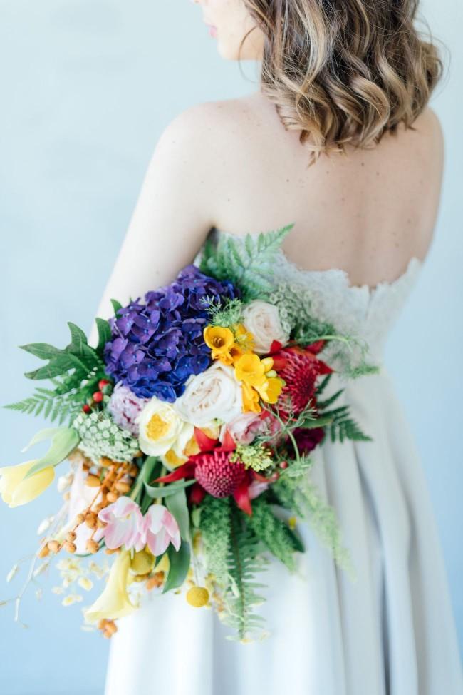 Cascade Long Wedding Bouquet 1