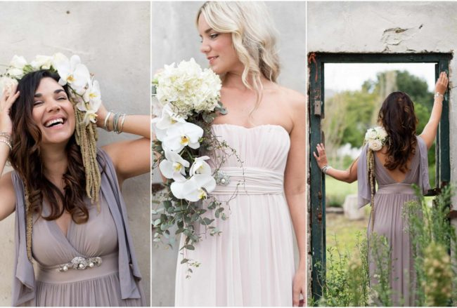 Gorgeously Chic Bohemian Bridesmaid Dresses {Samantha Clifton}