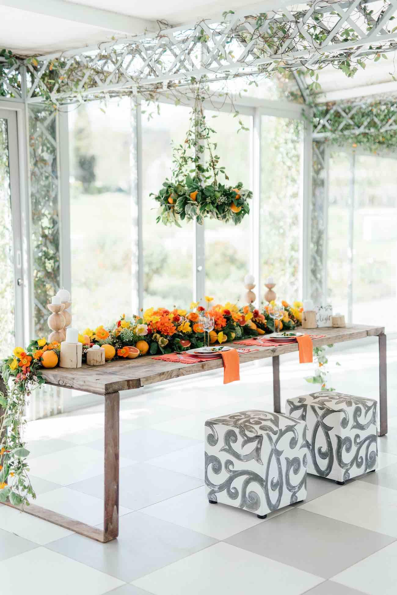 Citrus Wedding Ideas