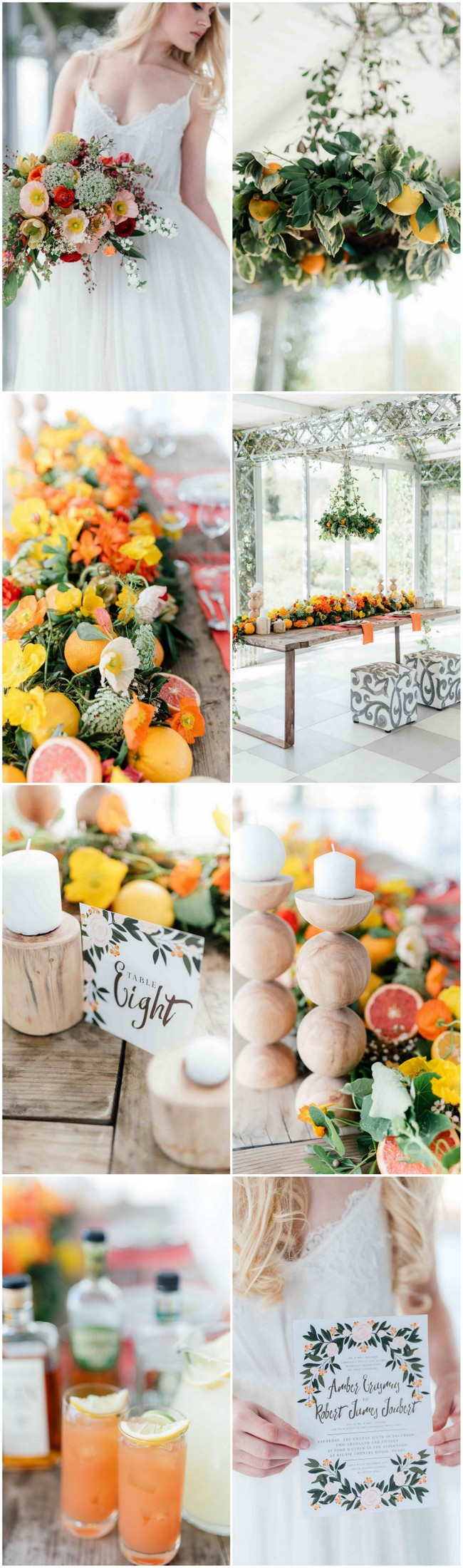Citrus Wedding Ideas 2