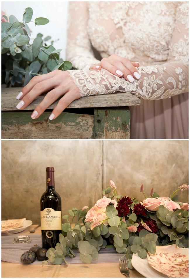 Copper Burgundy and Blush Wedding