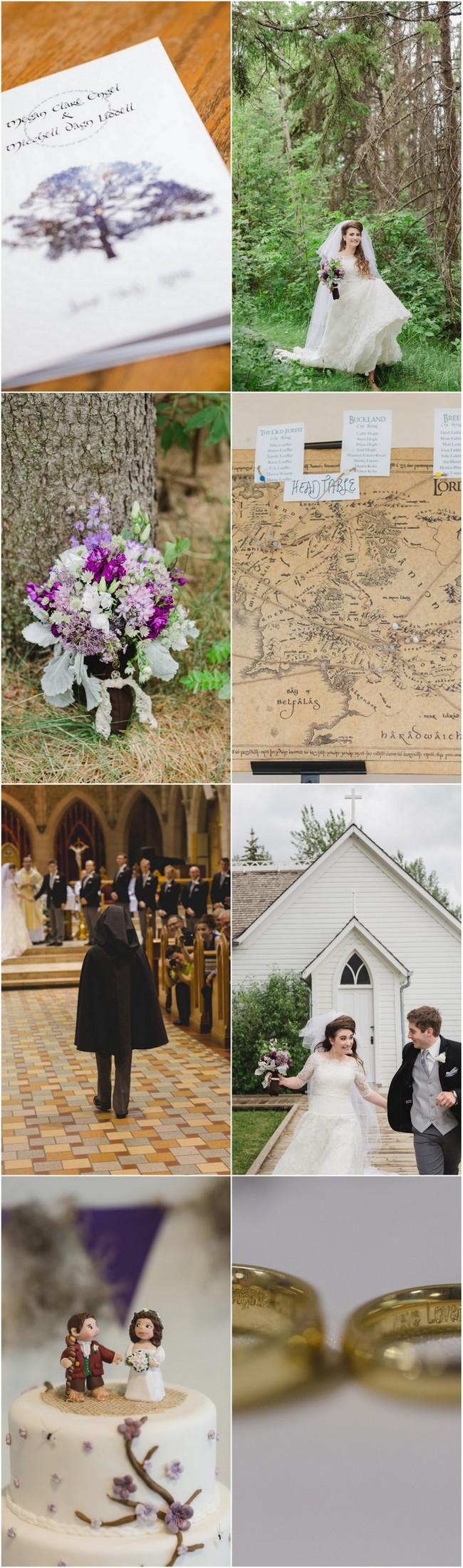 Creative JRR Tolkien Wedding 1