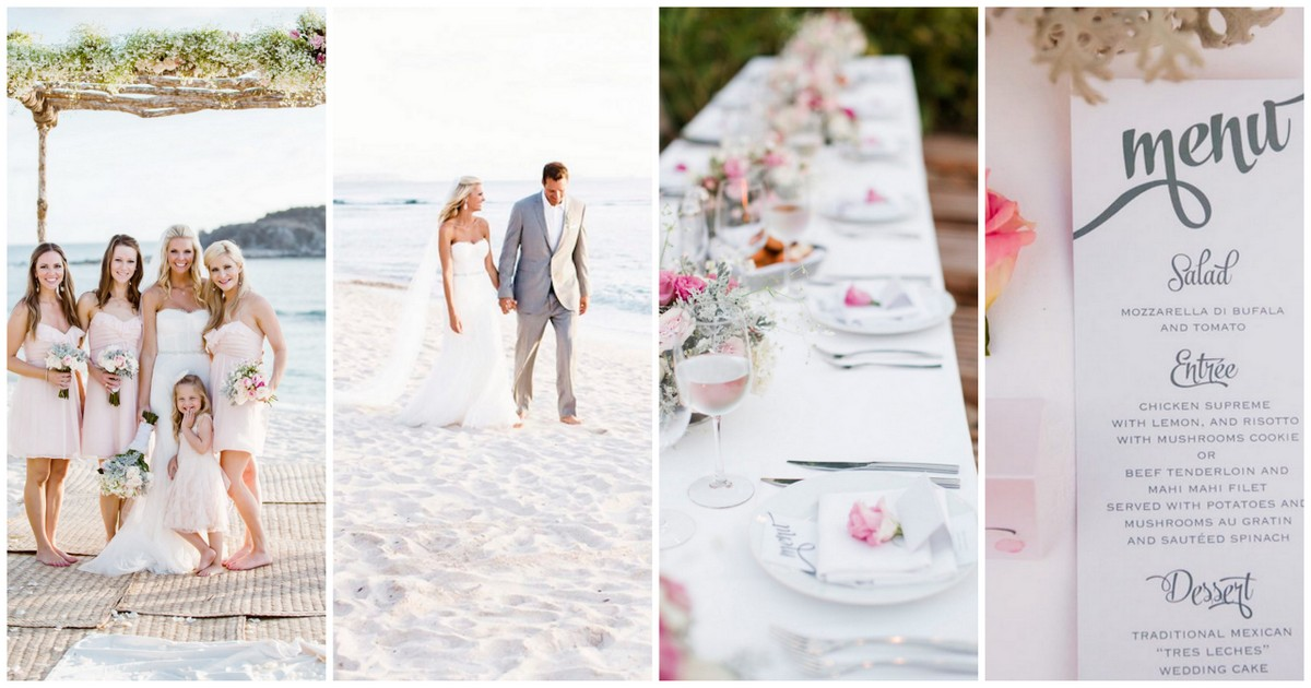 25 Out Of The Box Ideas For Your Destination Wedding: 25 Beach Themed Wedding Projects & DIY Inspiration