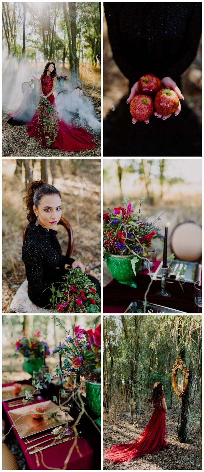dramatic-black-and-red-forest-wedding-2