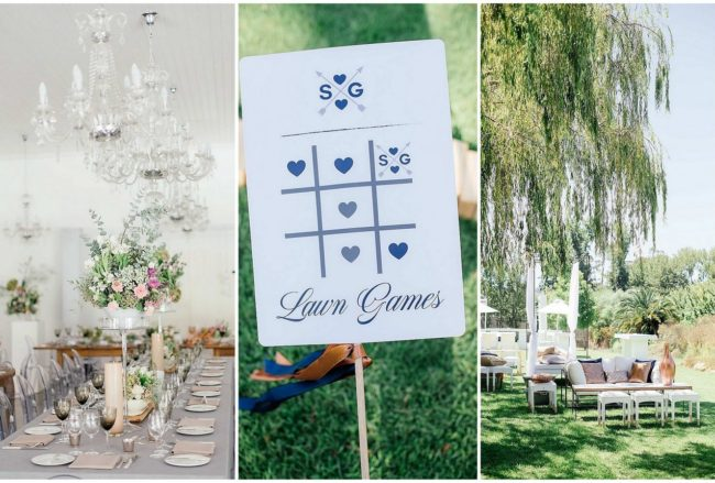 An Elegant, Atmospheric Wedding {Debbie Lourens Photography}