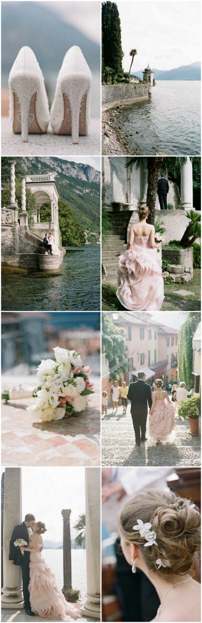 Elegant Lake Como Elopement in Italy