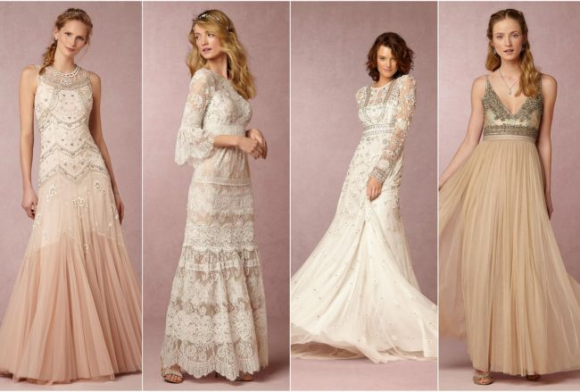 19 Exquisitely Romantic Bohemian Wedding Dresses