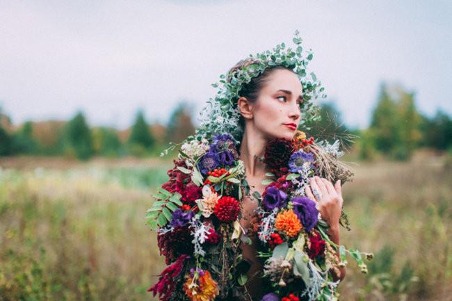 Fall Harvest Bohemian Engagement - Artemis Photography