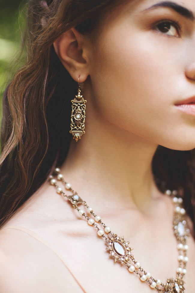 Forest Bride Accessories handmade by Rabbitwood and Reason // La Candella Wedding Photography