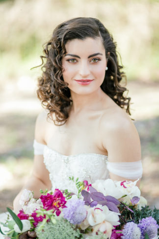 Giant Floral Wedding Ceremony Wreath