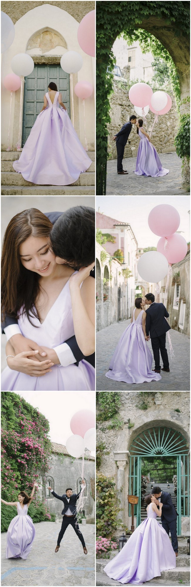 Giant Pink Balloon Wedding - darinimages photography