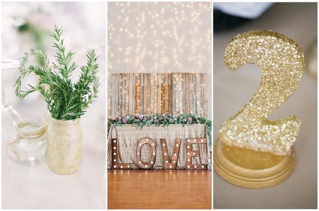 Glitter Wedding Ideas