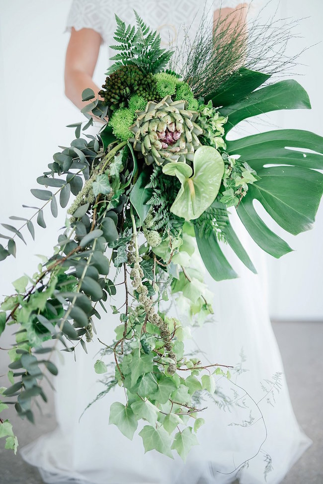 Greenery and Copper Wedding