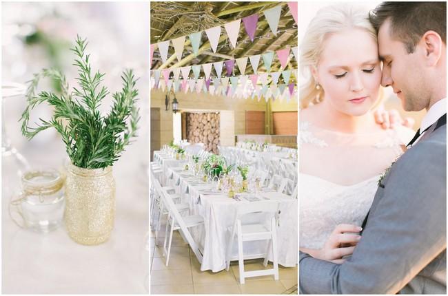 Handmade Pink Gold Glitter Wedding – Geneviève Fundaro Fine Art Photography