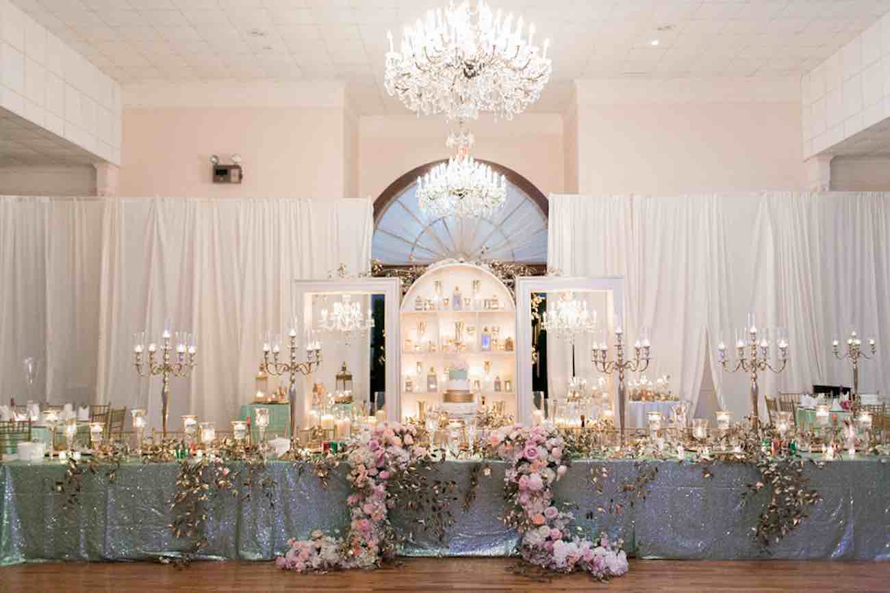 Luxurious Gold Blush Mint Wedding - Captured by Arte De Vie
