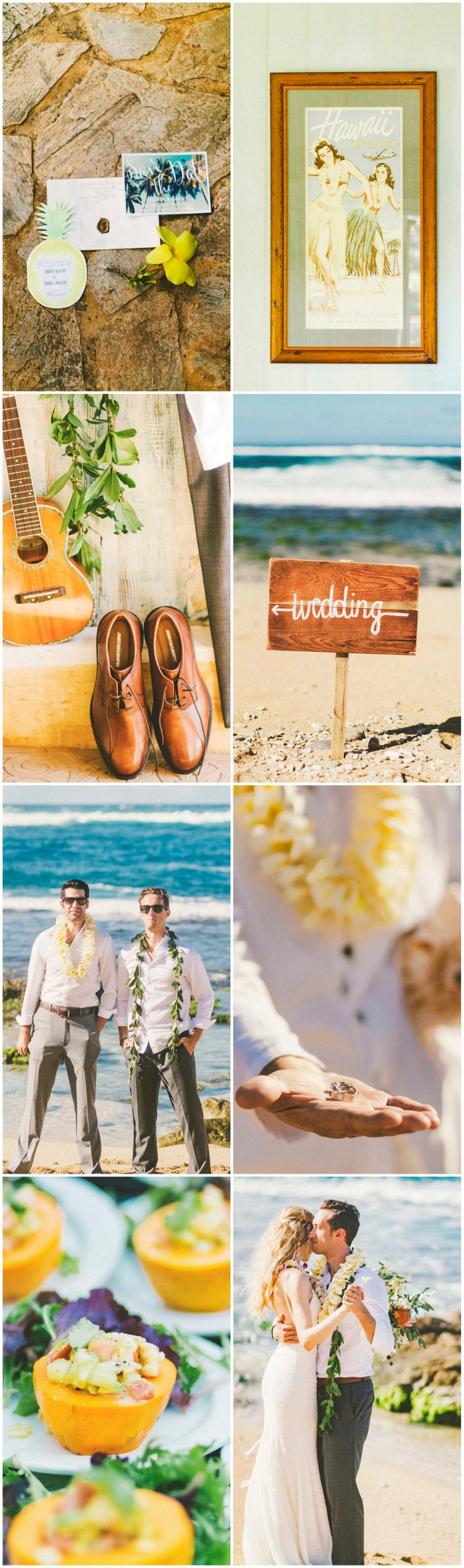 Tropical Maui Destination Beach Wedding 65