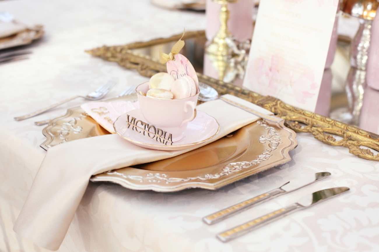 Pink Alice in Wonderland Wedding 56
