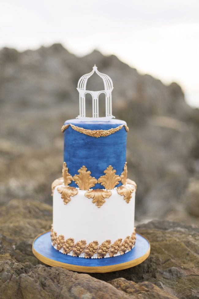 wedding cakes royal blue and gold royal blue gold white grecian inspired wedding ideas 25398