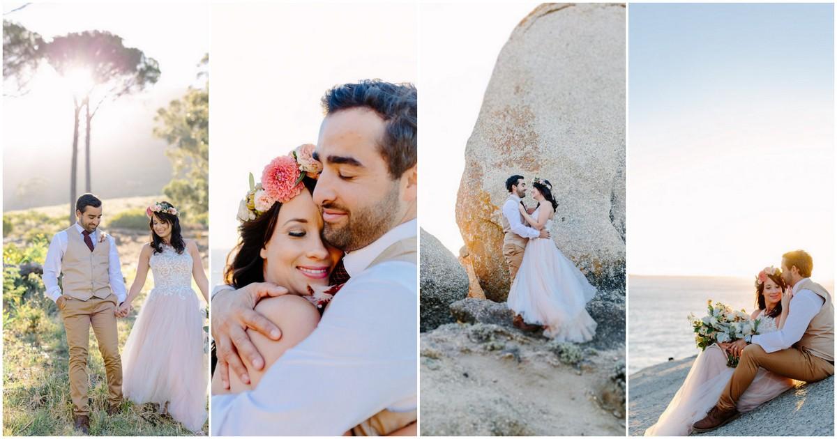 Signal Hill Llandudno Beach Cape Town Couple Photograph Ideas