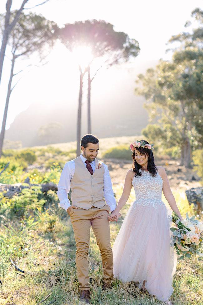 Signal Hill Wedding Couple Photographs