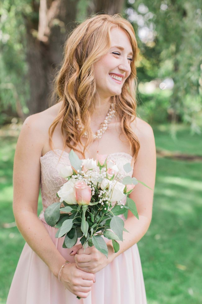 Dreamy summer garden wedding with romantic, rustic barn details - Brittany Lee Photography