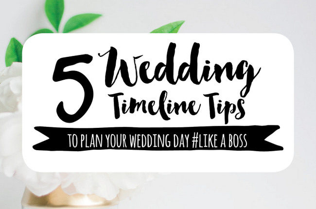 Wedding Day Timeline: 5 Things Couples Need to Remember