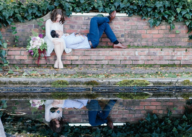 Whimsical Garden Engagement {Debbie Lourens Photography}