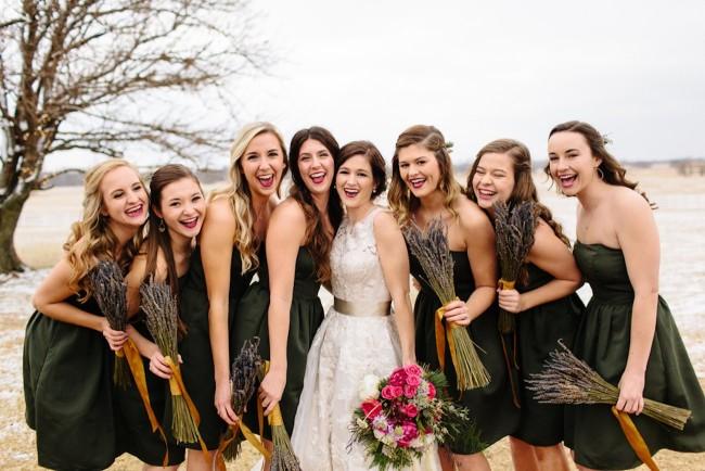 Pink + Lavender Winter Colorado Wedding - Sarah Libby