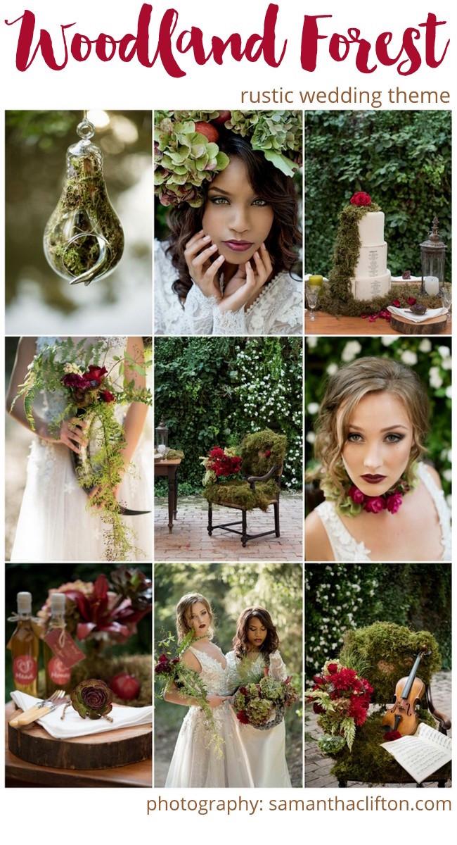 Woodland Forest Wedding Ideas