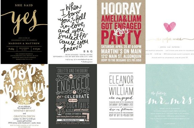22 Engagement Party Invitations to 'Say Yes' to!