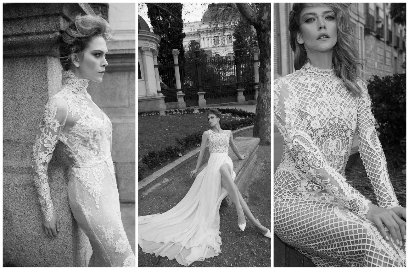 Romantic, Elegant Couture Wedding Dresses {Yaki Ravid}